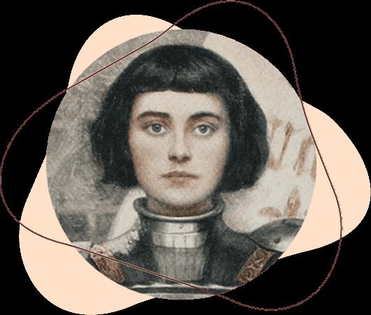 A mulher forte Joanna D'Arc