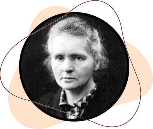 A mulher forte Marie Curie